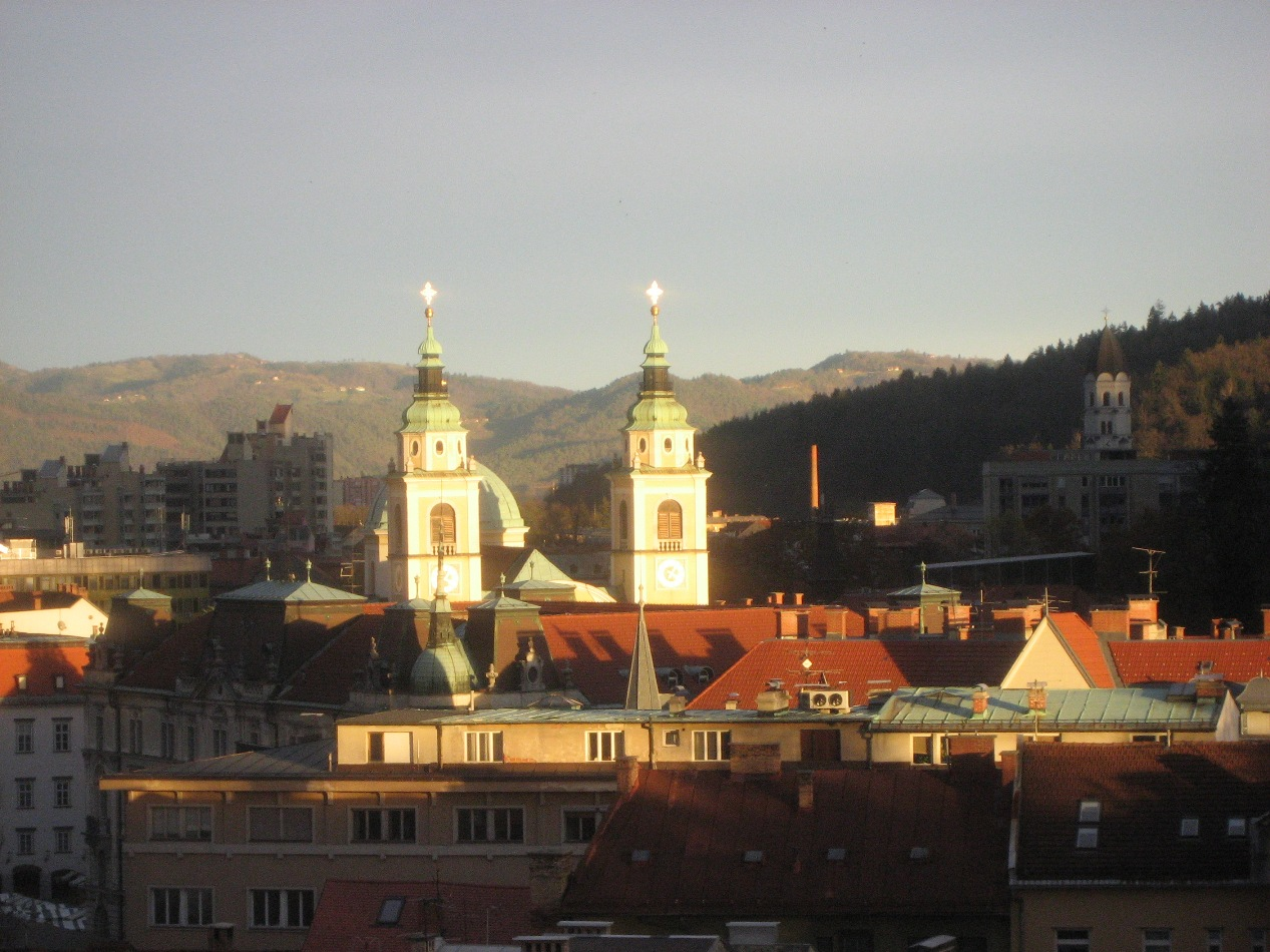 Ljubljana Sunset