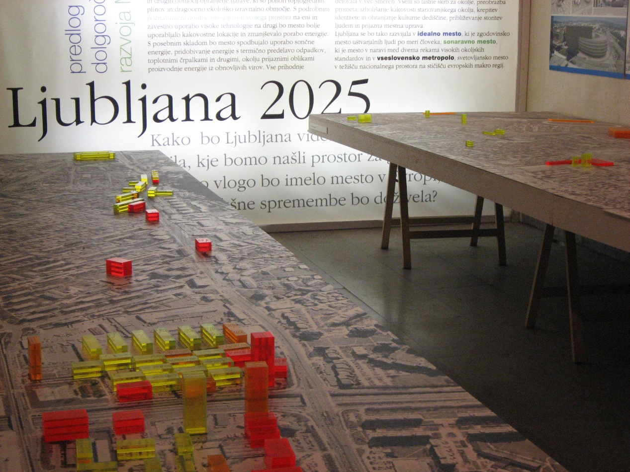Planned Real Estate Development in Ljubljana