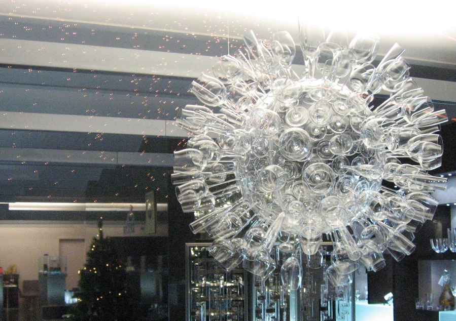 Crystal Glass Snowflake