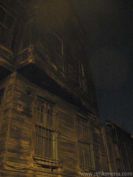 hauntd house?