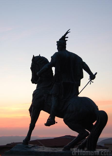 Skanderbeg in Krujë