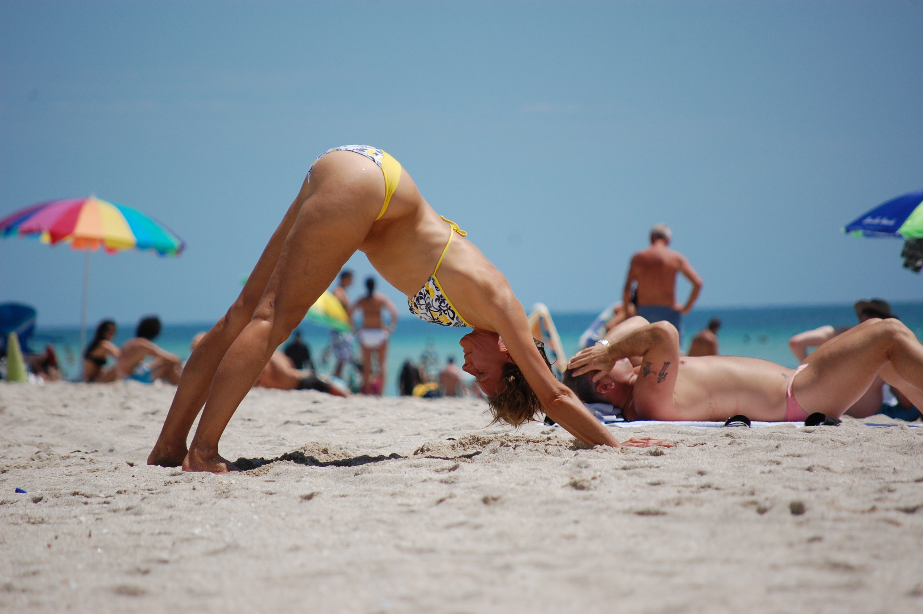 Yoga on The Beach South Beach South Beach May Well be The
